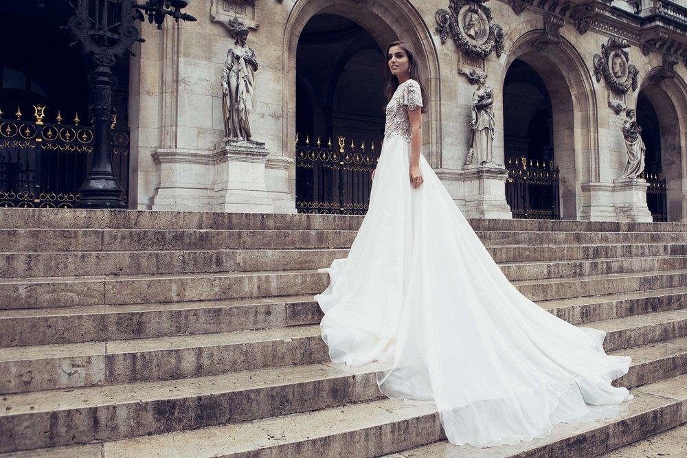 Campaign for Annaelle Couture in Paris