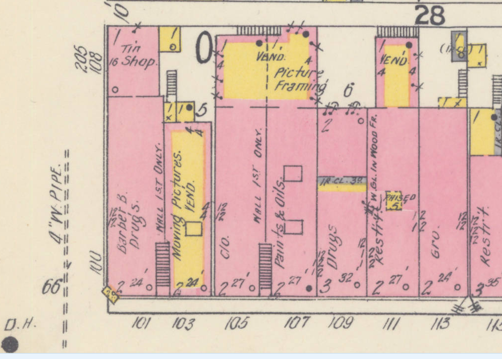 1912 Sanborn Insurance Map
