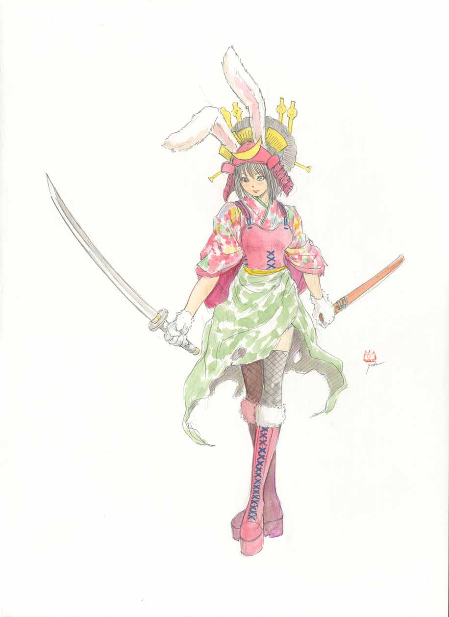 Design of Samurai Bunny I