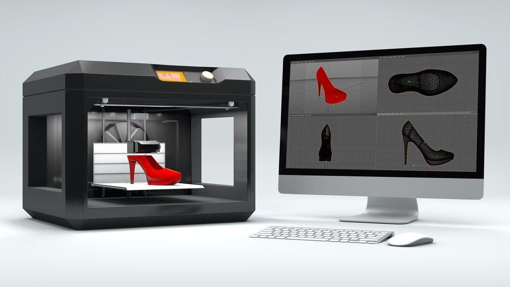 3D gedruckte Schuhe - 3D Drucker Fonds
