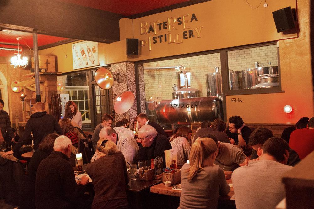 Brew Pub:Four Thieves, Battersea