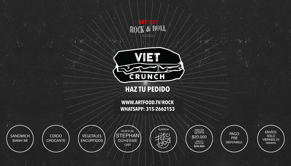 artfood rock roll viet-crunch