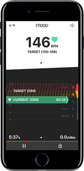 New Live Screens Know exactly how you are performing during your workout and know what you need to do to get the most benefit.