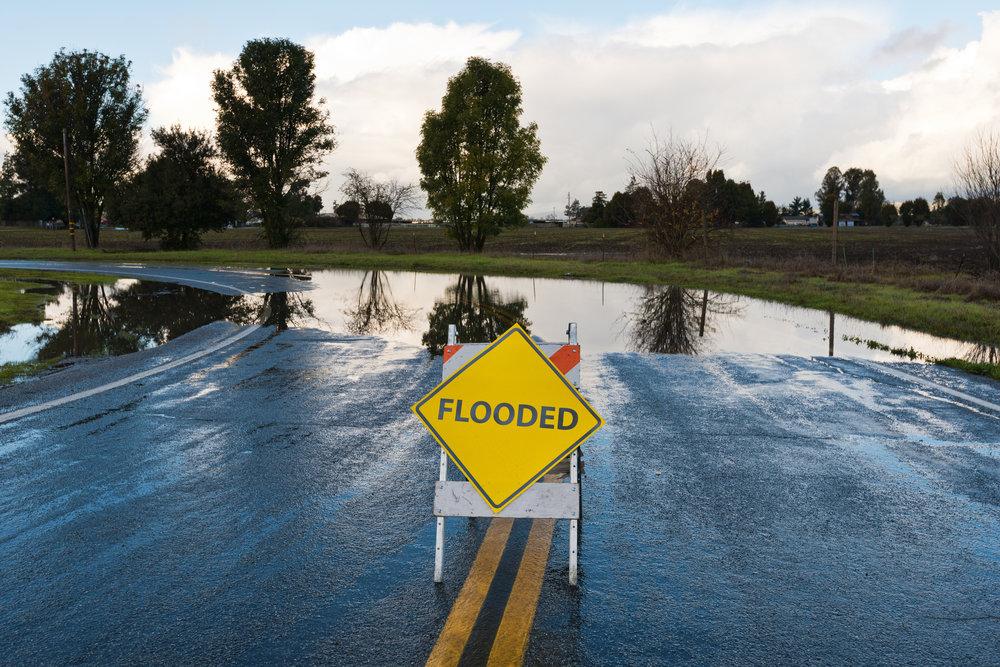 Minimize flood risk