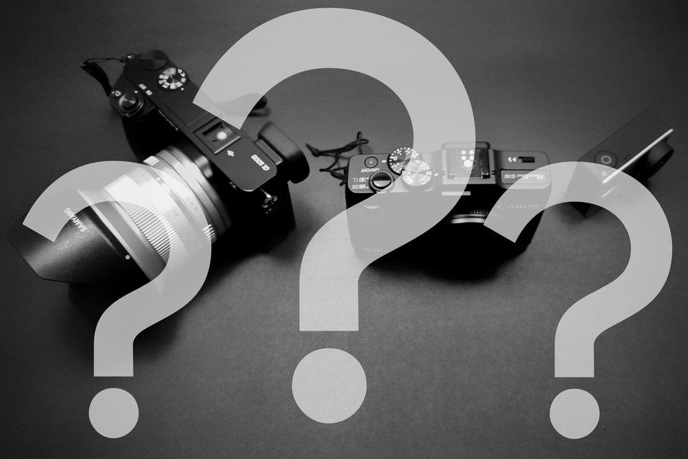 como escolher minha primeira câmera