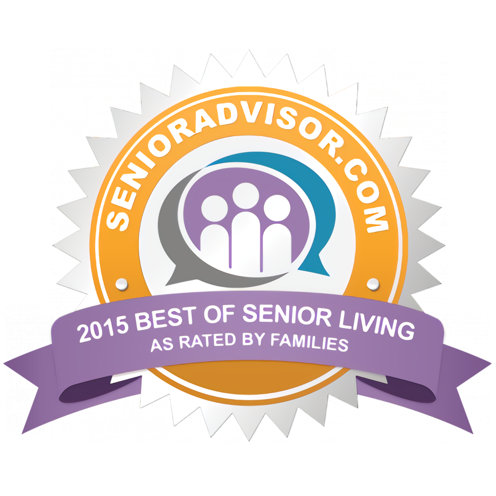 2015 Best of Senior Living Award
