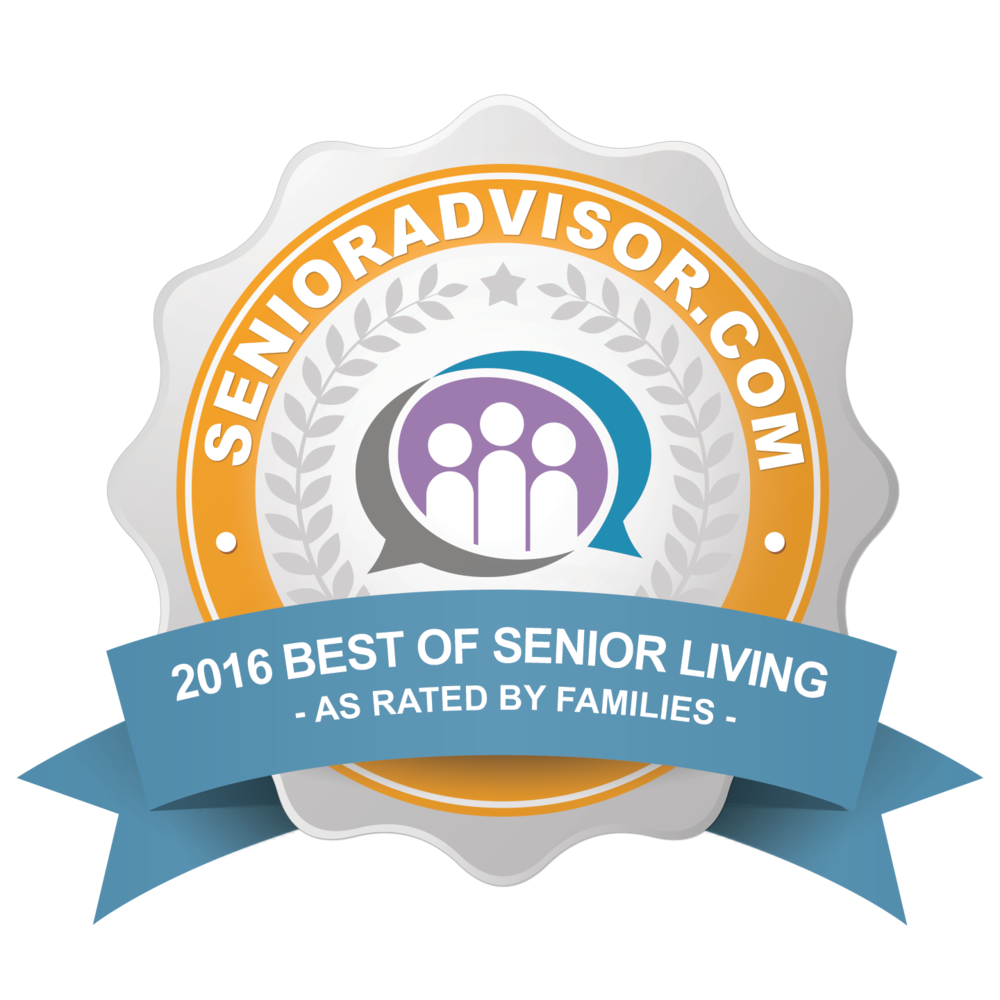 2016 Best of Senior Living Award