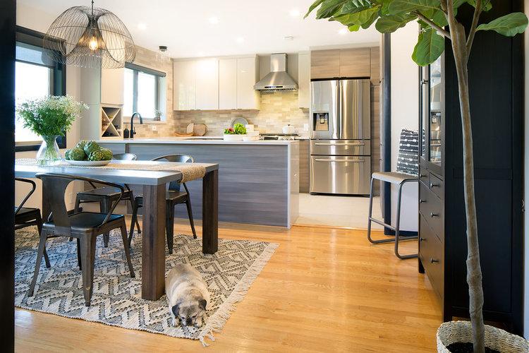 Fauntleroy Midcentury Kitchen — Distinctive Kitchens Seattle