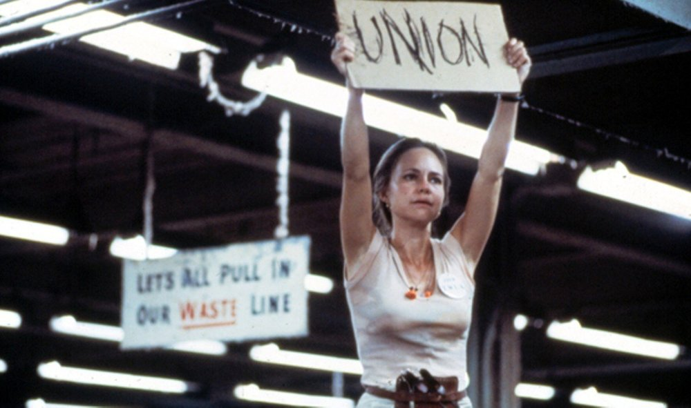 Sally Fields in  Norma Rae