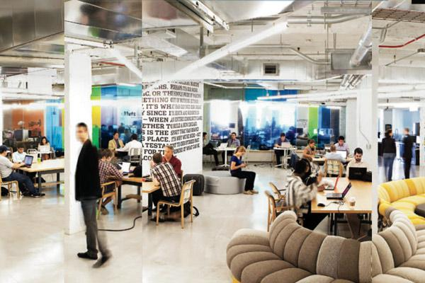 1871 is training the next generation of digital entrepreneurs Above: The Chicago hub's 120,000 sq ft headquarters.