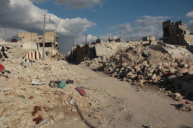 Syria Aleppo tragedy Gary Popovich.jpg