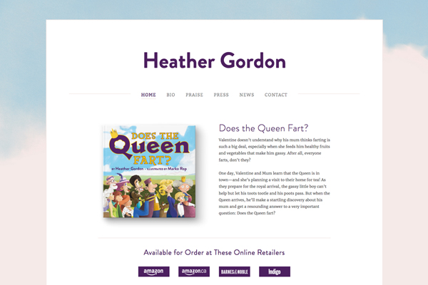 Heather Gordon www.heathergordonauthor.com