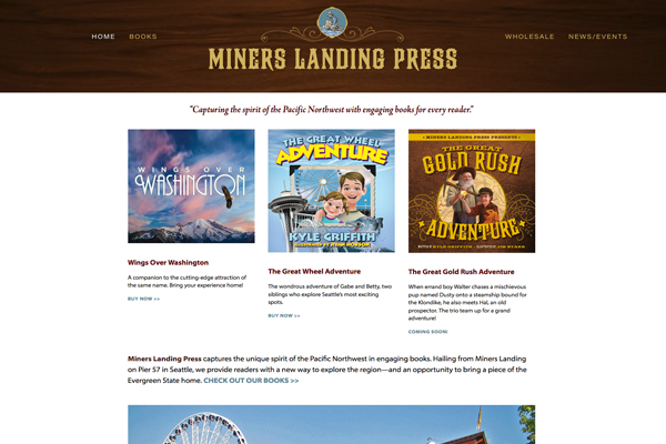 Miners Landing Press www.minerslandingpress.com