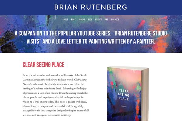 Brian Rutenberg  www.brianrutenbergbooks.com