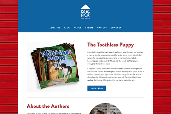 Dog Haus Publishing www.doghauspublishing.com