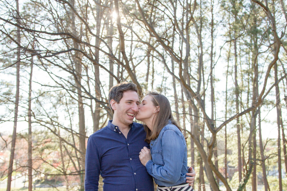 Aileen and Max | Downtown Fredericksburg Engagement | Virginia Wedding & Elopement Photographer | Maral Noori Photography