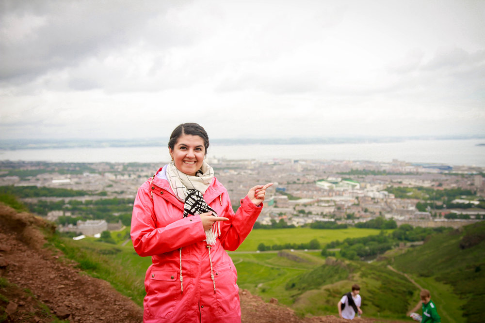 Travel Blogger | Edinburgh Scotland | Destination Elopement & Wedding Photographer | Travel Photography & Tips | Maral Noori Photography | Arthur's Seat