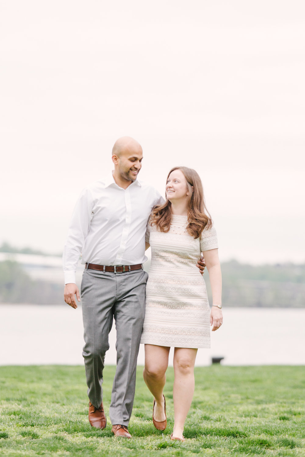 Maral Noori Photography | Kate and Anup | Old Town Alexandria | Jones Point Photography | Virginia Wedding Photographer | Alexandria Engagement Photographer