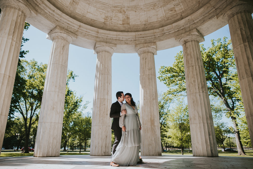 Maral and Brian | DC Engagement | Justin Kunimoto Photography