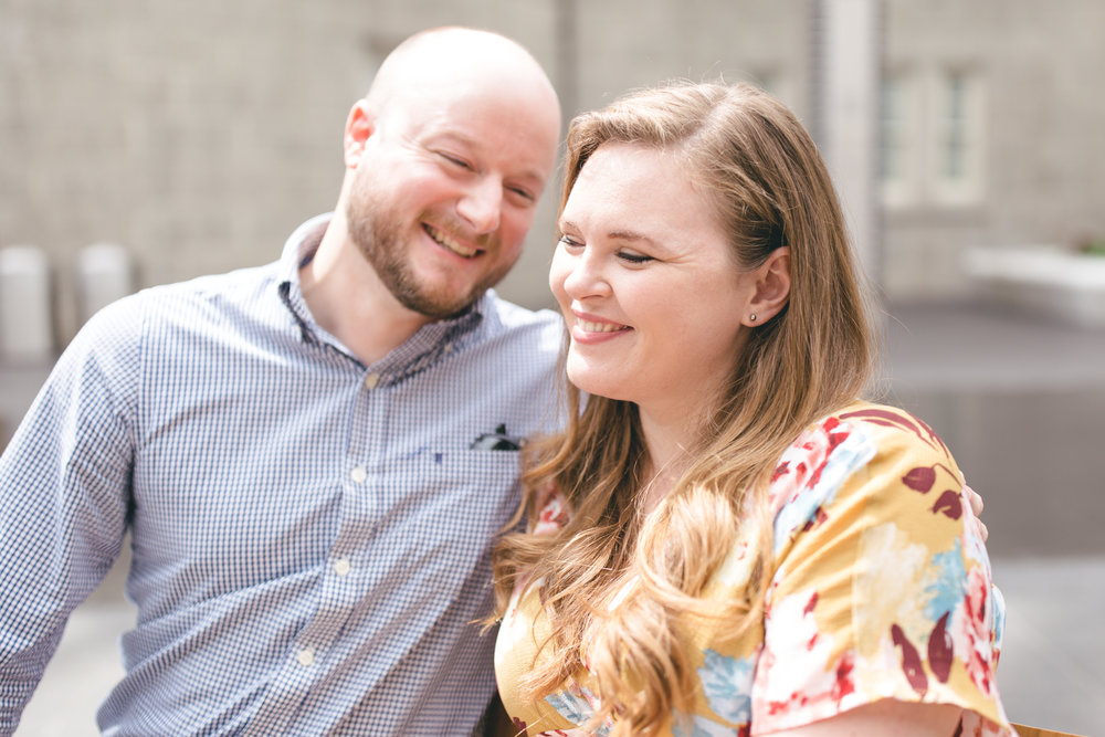Smithsonian National Portrait Gallery Engagement Session | Maral Noori Photography