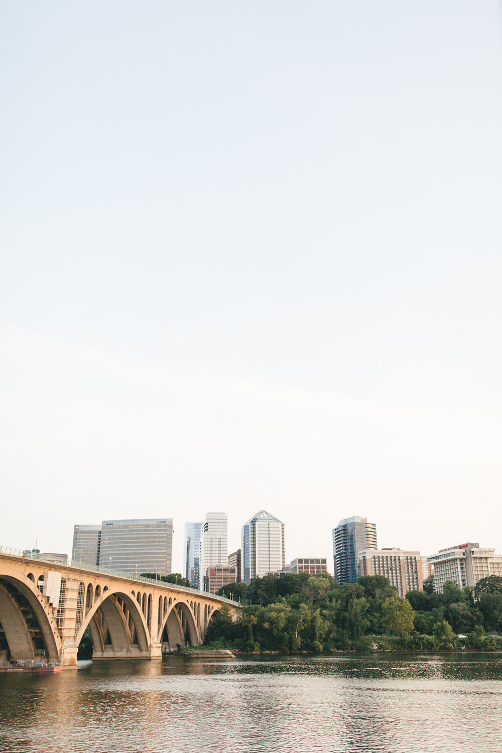 Georgetown Waterfront Engagement Session | Maral Noori Photography | Rosslyn