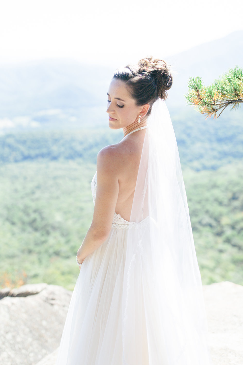 Wintergreen Resort Wedding | Maral Noori Photography | Charlottesville Virginia Wedding Photographer | Bhldn Josie Gown