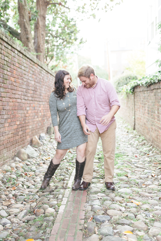 Old Town Alexandria Fall Engagement | Maral Noori Photography | Virginia Wedding Photographer