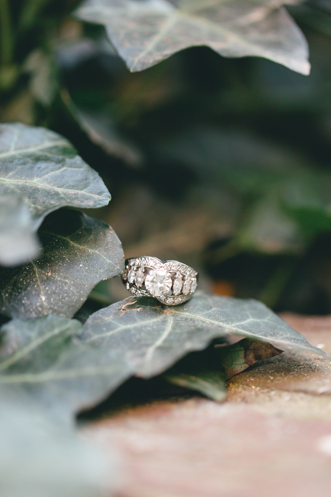 Old Town Alexandria Fall Engagement | Maral Noori Photography | Virginia Wedding Photographer | Vintage Engagement Ring