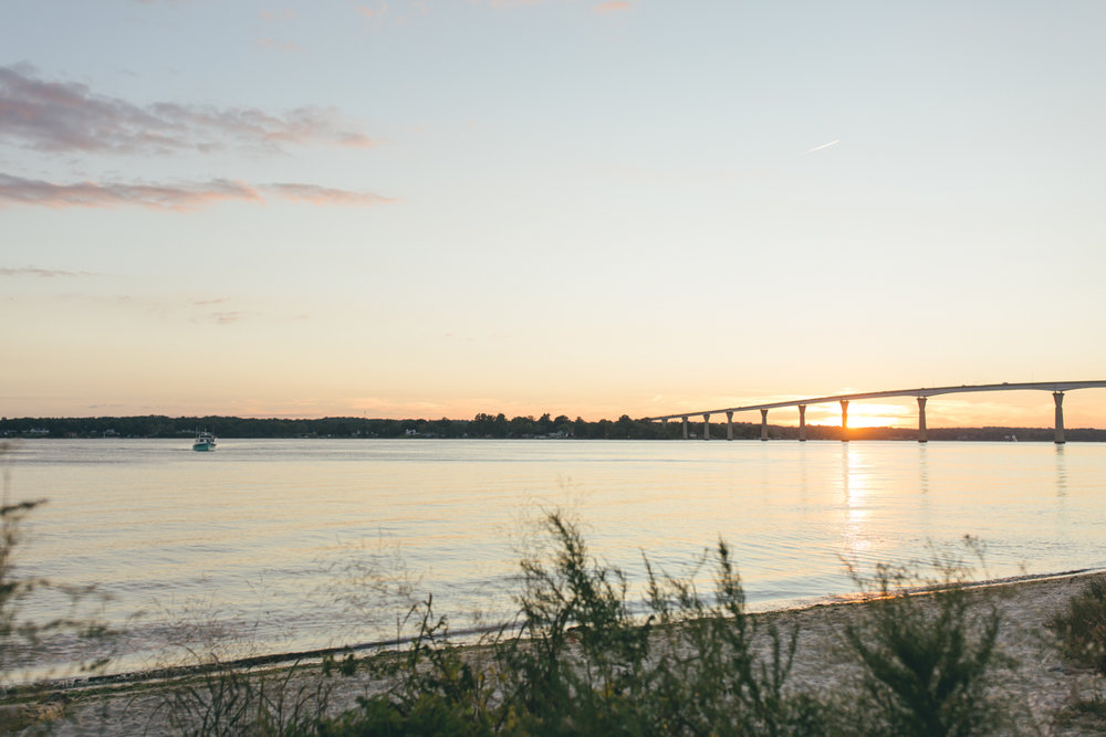 Solomons Island Engagement Session | Maral Noori Photography | Maryland Wedding Photographer | Sunset