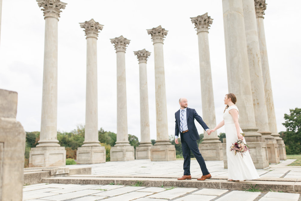 National Arboretum Wedding | Maral Noori Photography | DC Elopement Photographer