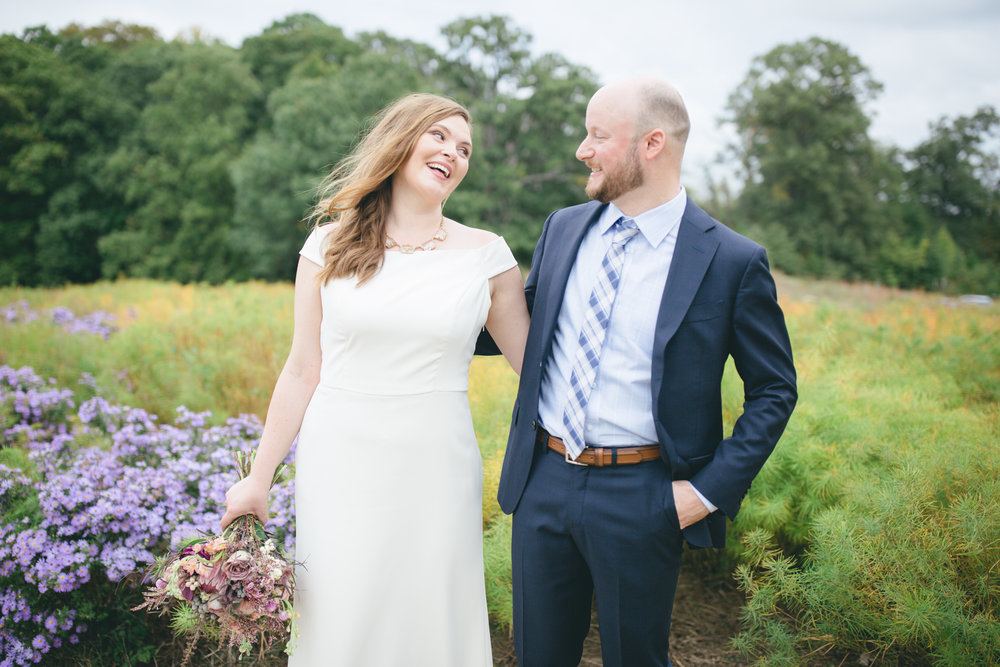 National Arboretum Ivy City Wedding | Maral Noori Photography | DC Elopement Photographer
