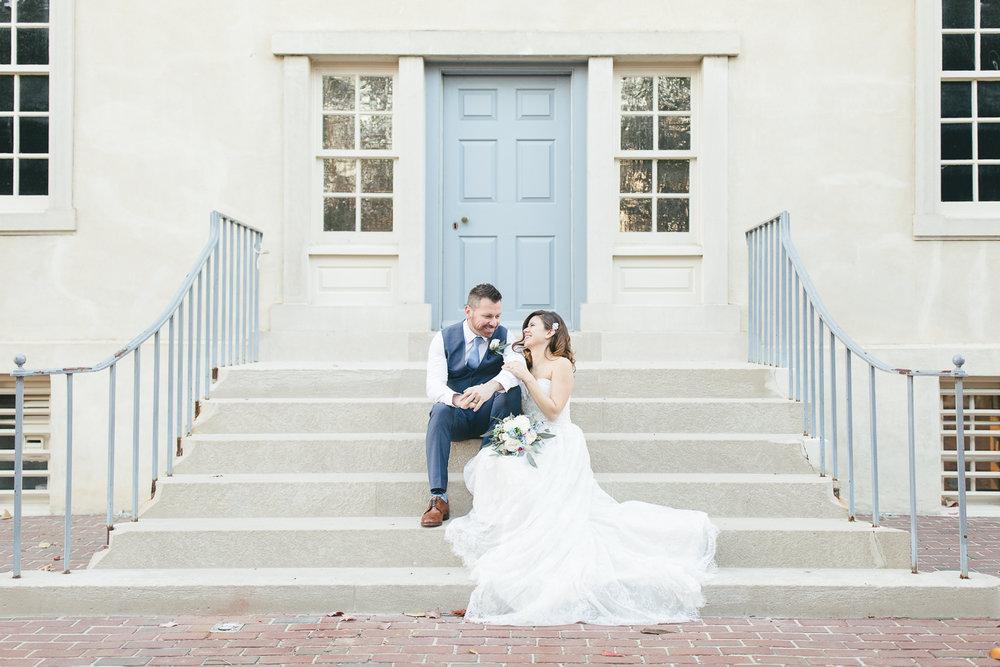 Carlyle House Elopement | Maral Noori Photography | Virginia Wedding Photographer