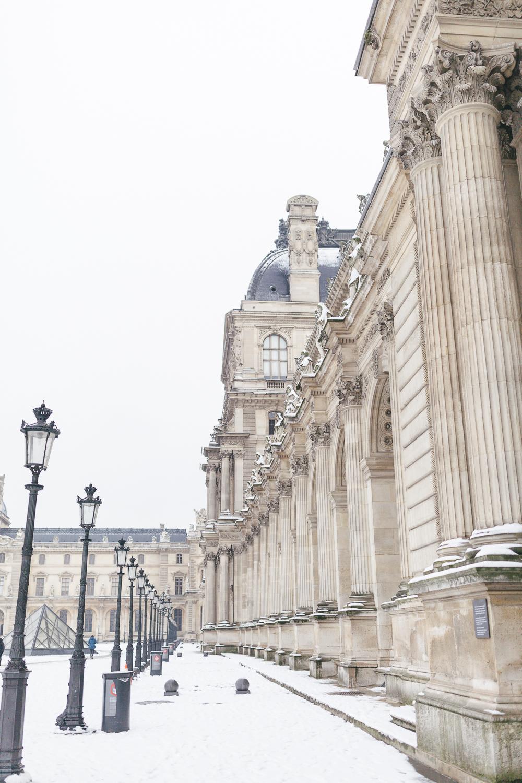 Paris, France Travel Blog | Tips | Tricks | Prints | Maral Noori Photography | Louvre Columns