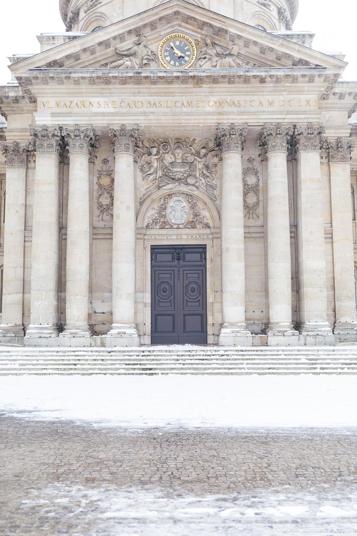Paris, France Travel Blog | Tips | Tricks | Prints | Maral Noori Photography | Institute de France Door