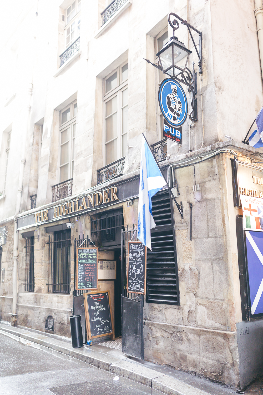 Paris, France Travel Blog | Tips | Tricks | Prints | Maral Noori Photography | The Highlander Scottish Pub