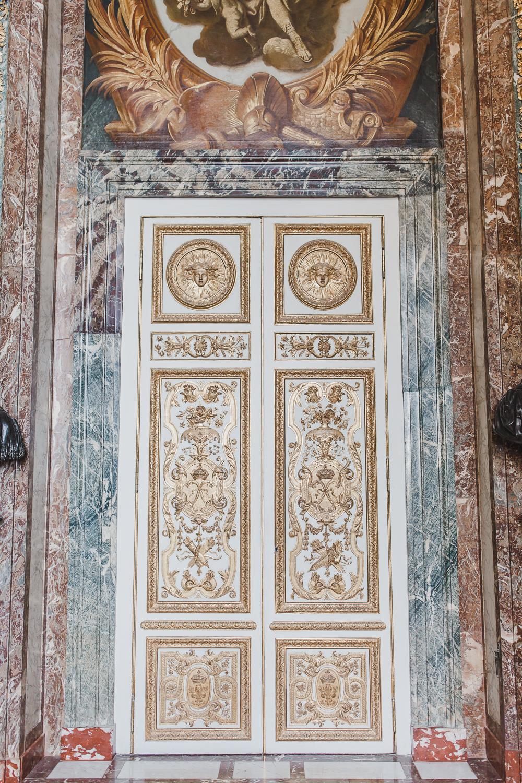 Maral Noori Photography | Versailles Palace, France | Travel Tips and Blog | Door