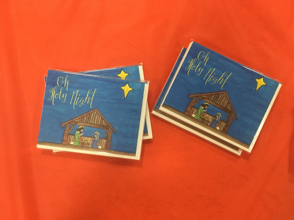 Shop the Oh Holy Night card set of ten now.