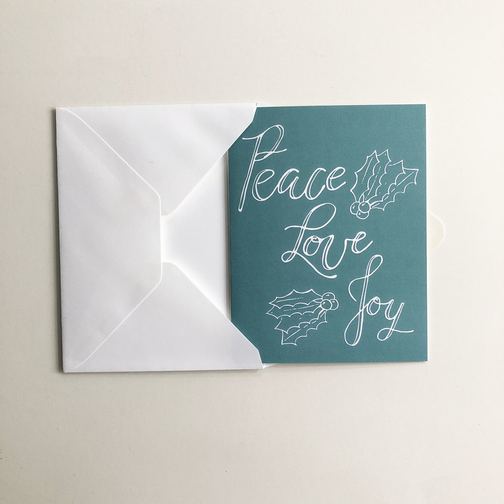 There is nothing better than spreading  peace, love and joy  this holiday season to your loved ones.