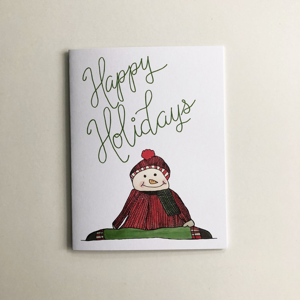 A favorite from last year is back! This  greeting card  will melt your loved one's heart.