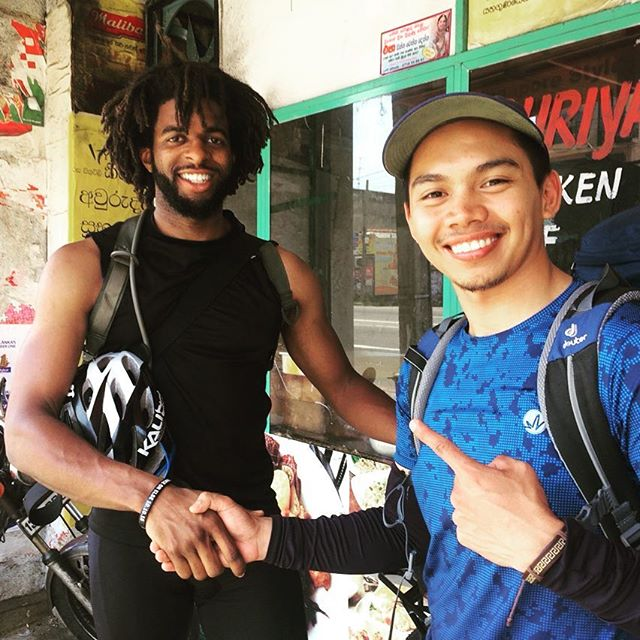 While in Sri Lanka cycling 🚵 and exploring I've had the opportunity to run into my good friend Rap from the Philippines 🇵🇭 we met last year in Berlin, Germany 🇩🇪 at @wearethedoschool where he worked on his Zero Waste Youth Camp aimed at teaching the youth about Sustainable living! During our time at The Do School we had the opportunity to work with fellows from around the world with ambitious spirits and hearts full of passion! Our fellowship implementation is coming to an end but our ventures will continue to grow and effect change all around the world 🌎. Check out @wearethedoschool for the audio challenge applications open until May 30th!