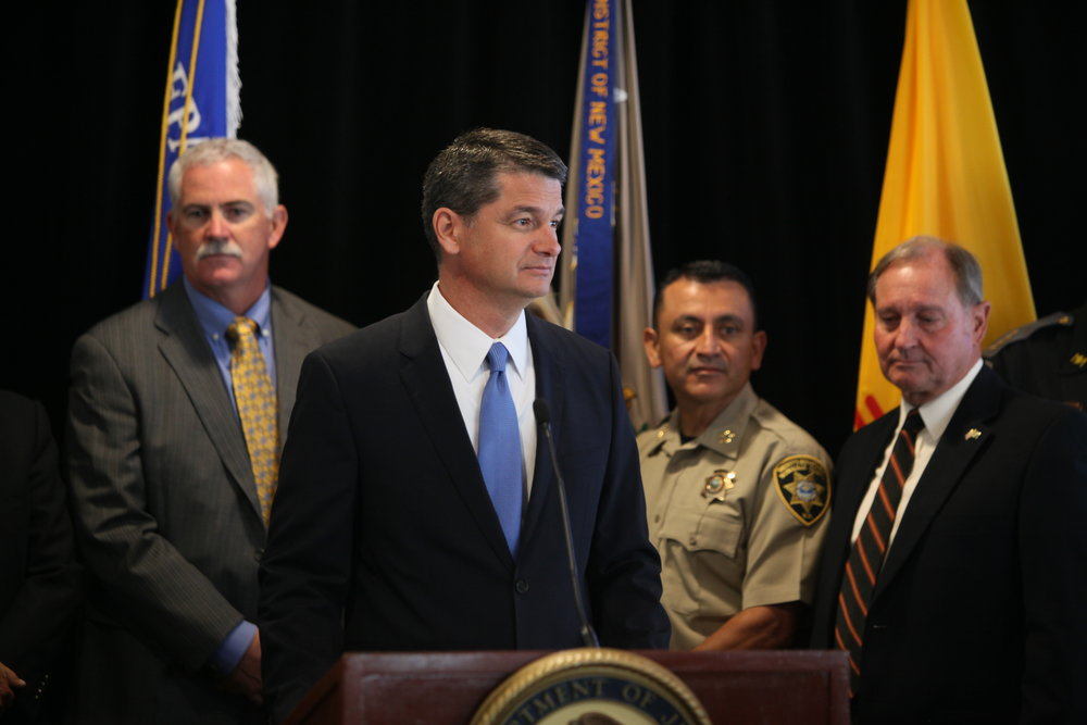 U.S. Attorney Damon P. Martinez