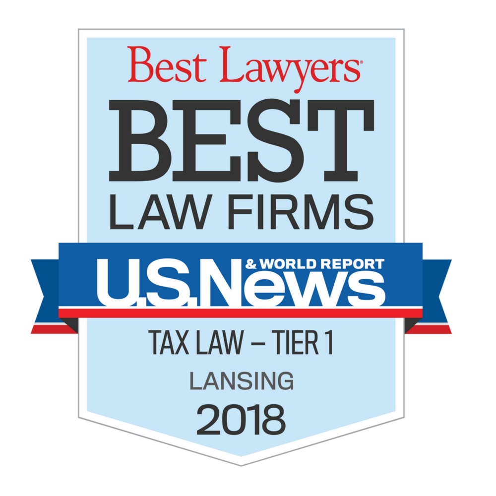 Best Law Firms 2018 Tax Law