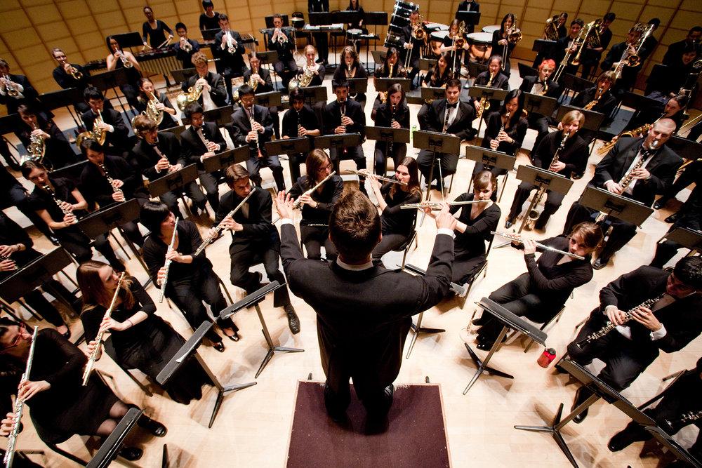 Large Ensembles   UBC Bands   Symphonic & Concert Winds