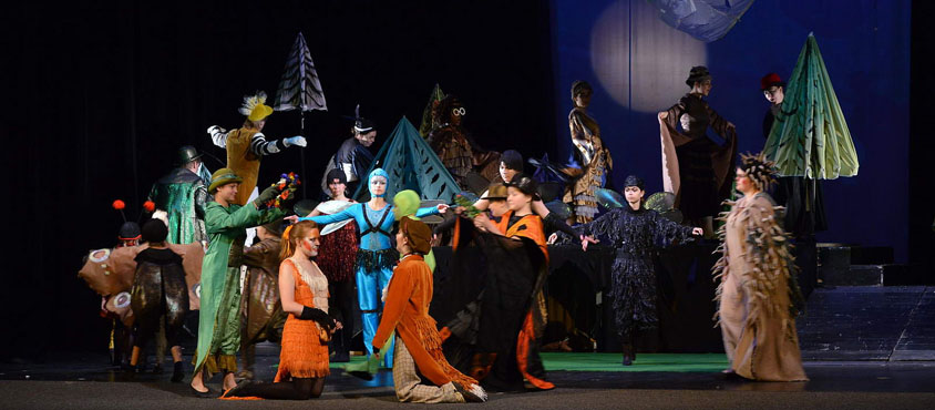 UBC Opera performed The Cunning Little Vixen in the Czech Republic (summer 2013). Photo: UBC Opera