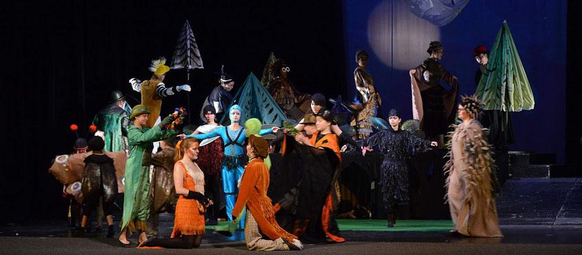 UBC Opera performed The Cunning Little Vixen in the Czech Republic (summer 2013). Photo: UBC Opera