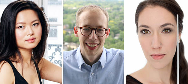 Pictured (left to right): Annie Yim, Matthew Emery, and Janna Sailor