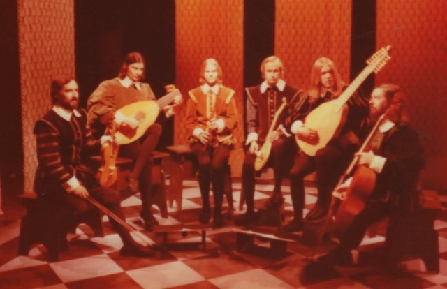 John performing on CBC in the late 1970s.