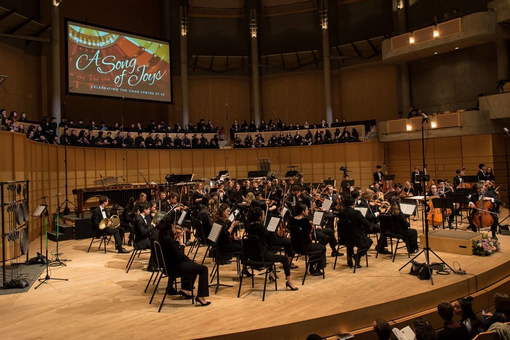 UBC Symphony Orchestra.  Photo: Paul Joseph/UBC
