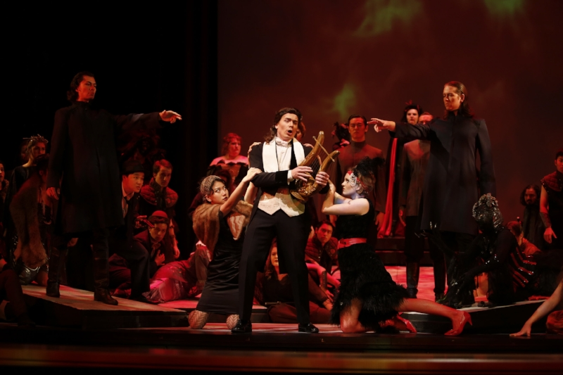 Scene from UBC Opera's  Orfeo ed Euridice.   Photo: Tim Matheson