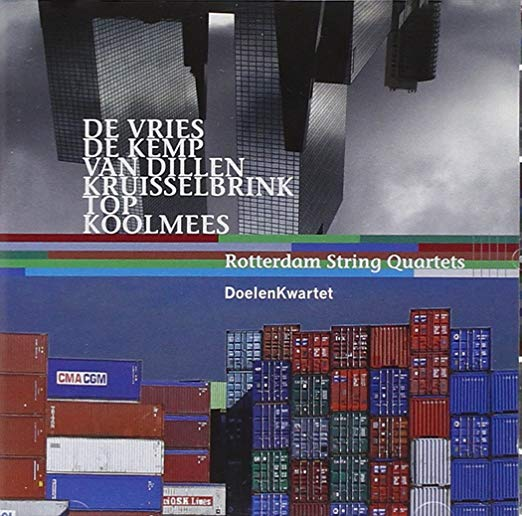 2007-10-15 CD Cover | Rotterdam String Quartets | Edward Top.jpg